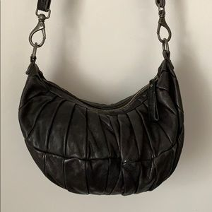 LIEBESKIND BERLIN Black Quilted Crossbody